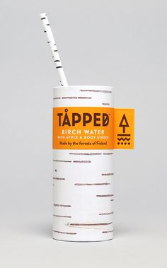 Tapped Birch Water #Brand Identity #Branding