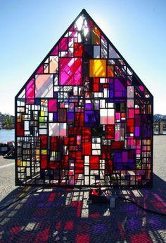 Architecture / tom fruin: kolonihavehus on we heart it / visual bookmark #13248517