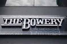 The Bowery, NYC Comfort Food Getting a feel of the place Located in Burgos Circle, Taguig City, Philippines, The Bowery is a place where #bowery #branding #type #food #identity #nyc #typography