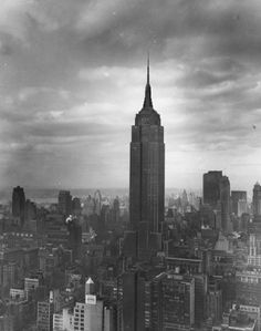 Cooler Than Before (ckck: The Empire State Building, circa 1955....) #empire #building #state