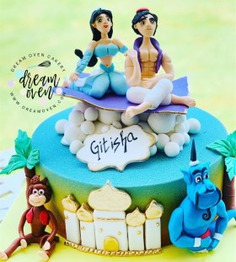 Aladin Birthday Party Cakes