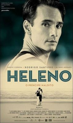 Heleno poster #movie #poster #typography