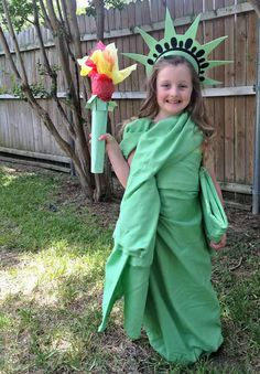 Statue of Liberty #homemade #diy #costume