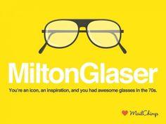 swissmiss #mailchimp #milton #illustration #glaser #swissmiss