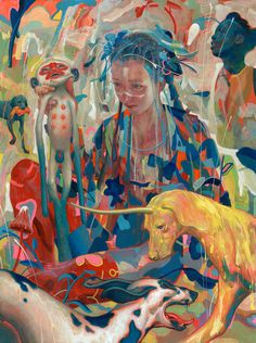 James Jean Painting