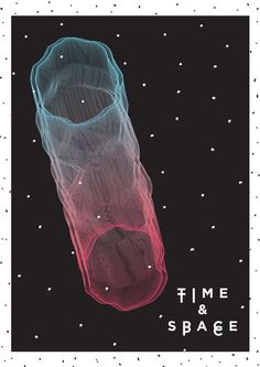 THE INTERGALACTIC JETSET #negative #design #transition #poster