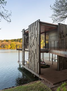 Bunny Run Boat Dock by Andersson-Wise Architects