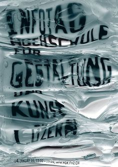 > Infotag 2005 #photography #poster #typography