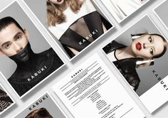 Jazmin Calcarami - makeup on Behance #branding #design #makeup #fashion #postcards