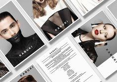Jazmin Calcarami - makeup on Behance #branding #design #makeup #fashion #postcards