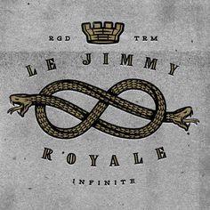 Snake Logo Jimmy Royale #logo #snake #vintage #snakeknot