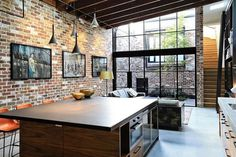 Old Commercial Garage Finds New Life as a Light-Filled Modern Home 2