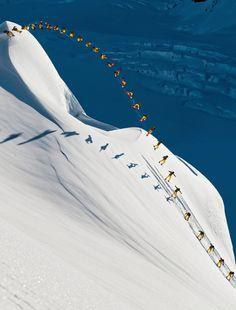 Red Bull Illume #snowboarding #mountain #white #aerial #snow #snowboard #time #lapse