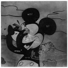 SIMONE ZACCAGNINI #autogoal #mickey #mouse #illustration #zac