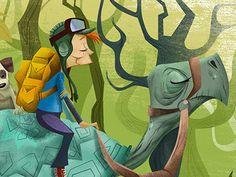 Inchingalong #turtle #illustration
