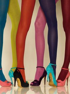 whatever #tights #colour #stiletto #legs