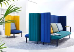 Modular Seating System Ophelis Sum #office #interior #design #furniture #modernfurniture