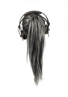 Cross My Heart, Hope To Die #hair #illustration #drawing