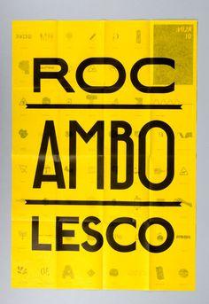 Rocambolesco RUN: disseny grà fic diseño gráfico graphic design graphisme #poster