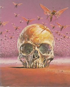 WASPS on DesignersGoToHeaven.com Via Nequest - Designers Go To Heaven #vintage #skull #wasps