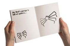 garage spider hat trick #spider #dads #garage #workshop