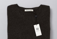 "High Tide   |   http://hightidenyc.com ""Kotoba, the Japanese word for language, is a collective knitwear brand that strives to produce #fashion #modern #design #sweater"