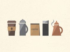 Coffee #coffee #illustration #dribble