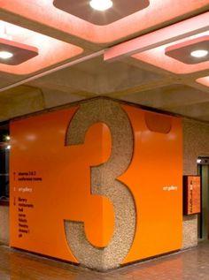 Wayfinding & signage | Cartlidge Levene #typography #type #signage