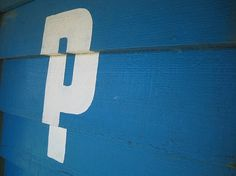 Your favorite photos and videos   Flickr #signage #blue #typography