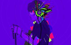 by carlosdamian.com #vector #disturbet #colors #illustration #psychedelic