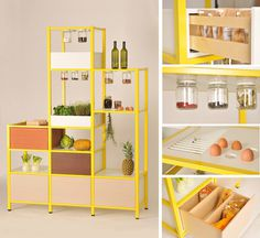 food storage3 #storage #shelves #kitchen
