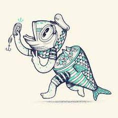 AlejandroGiraldo.com #self #fish