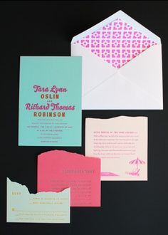 Oh So Beautiful Paper: A Paper Blog – Unique and Custom Wedding Invitation Ideas and Modern Stationery - Part 3