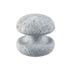 The Stone Personal Massager is a soothing and exfoliating massage stone. It is smooth on one side, and rough on the other. Made out of 100% authentic Finnish Soapstone, it is good at retaining temperature making it perfect to use warm and in a sauna. Easy to clean and made in Finland.