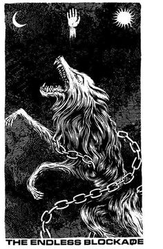 tumblr_m28l46OySC1qf4hg2o1_500.jpg (459×700) #chain #wolf