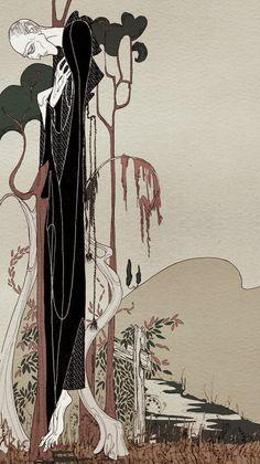 Kate Baylay's Ornate Illustrations   Hi Fructose Magazine