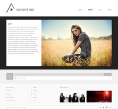 Good Soldier Songs Website by Ryan Paonessa / R&Co Design http://rspny.com http://r-ny.com #webdesign