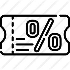 See more icon inspiration related to discount voucher, shapes and symbols, commerce and shopping, voucher, coupon, percentage and sales on Flaticon.