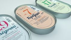 Biysk Fishery — The Dieline #meat #packaging