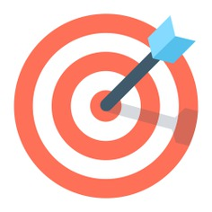 See more icon inspiration related to target, arrow, darts, targeting, archery, dart board, seo and web and weapons on Flaticon.