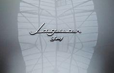 1955–59 Jaguar 3.4-litre (Mark 1) (by Stephen Coles) #letters #vintage #auto