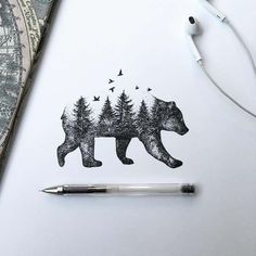 #Pen #Illustrations #inspiration #animal