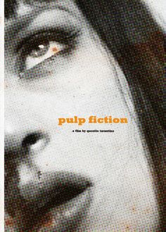 movies and things:Pulp Fiction 1994 #film #fiction #pulp #tarantino #vintage #poster #movies