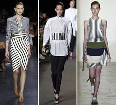 Catwalk Trend Alert - Daring Stripes - WGSN Insider