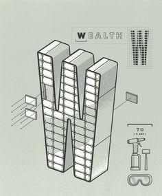 Money Magazine / 101 Ways to Build Wealth on Behance