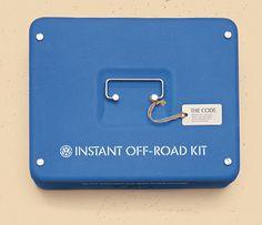 Volkswagen | Instant Off-Road Kit #branding #volkswagen #design #offroad #kit #vw