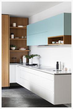 Clean lines kitchen #kitchen # modern