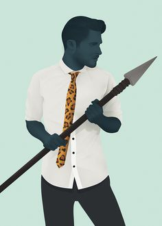 Mr Hyde – Urban Carnivore by Jack Hughes — Agent Pekka #illustration #people