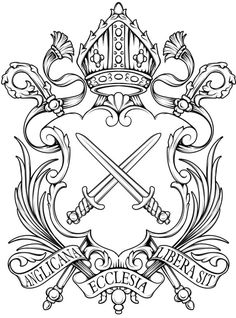 Bishop of London #sword #crest #royal