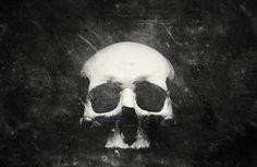 Once Were Warriors on the Behance Network #white #black #skull